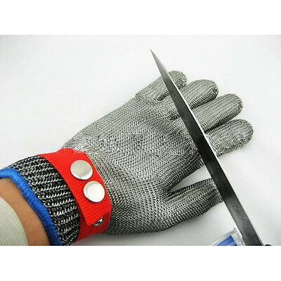 Safety Level5 Cut Proof Stab Resistant Stainless Steel Metal Mesh Butcher Glove
