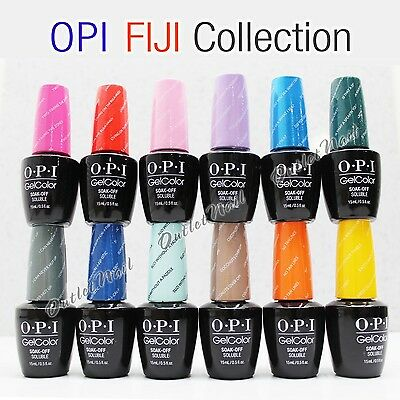 OPI Soak-Off GelColor FIJI 2017 Spring Summer Collection @PICK 1 Gel Polish