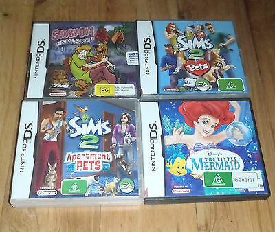 Bulk Lot of Nintendo DS games From $10 each All complete with manual booklets