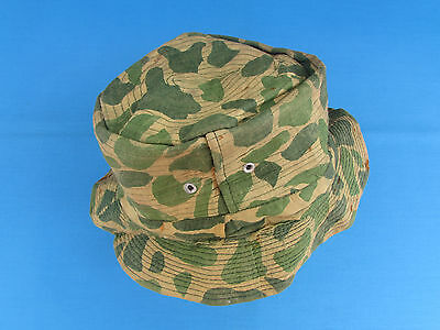 Nice South Vietnamese Rvn Made Camouflage Camo Fedora Style Hat Arvn Sf Lldb Vn
