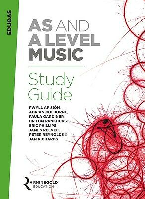 Eduqas AS And A Level Music Study Guide. Book