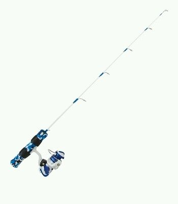 Clam Dave Genz Ice Sniper Ice Fishing Pole, Rod and Reel Combo