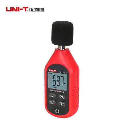 UNI-T UT353 LCD Digital Sound Level Noise Meter Tester Decibel Monitor 30-130dB