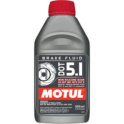 Motul 8070Hc Dot 5.1 Brake Fluid 1/2 Liter