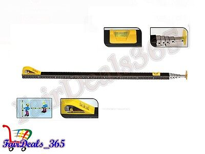 High Quality Telescopic Measuring Rod Stick-4 Meter For Accurate Measurement