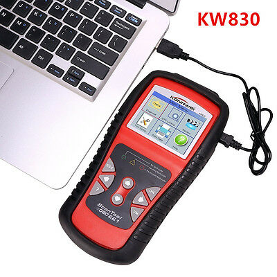 KW830  Professional Diagnostic Scan Tool CAN OBDII OBD2 Fault Code Scanner AL519