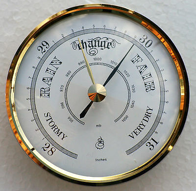Barometer movement / mechanism 70mm Available with brass or white dial