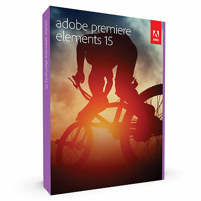 Adobe Premiere Elements 15 Disc for PC/Mac Exp post New