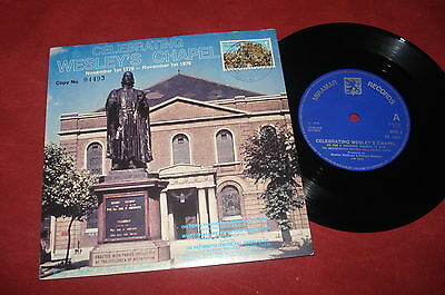 "WESTMINSTER CHORAL GROUP 7"" 1978 JOHN WESLEY Methodist  EXOTICA STAMP"