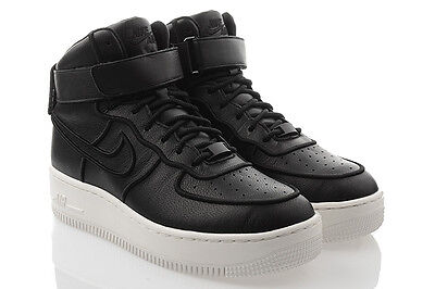 DAMEN NIKE AIR Force 1 Upstep Schwarze Turnschuhe AV8222 001