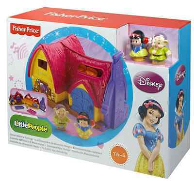 Fisher Price Little People Disney Princess Snow White's Cottage New