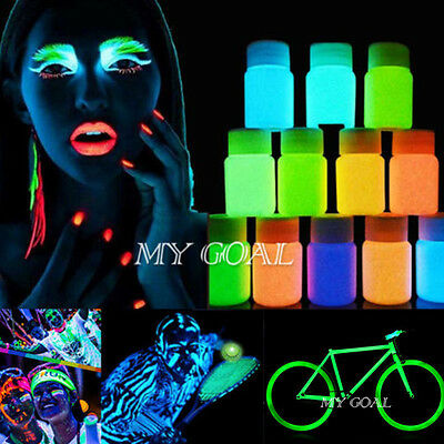 25g Glow in the Dark Paint Bright Pigment Acrylic Luminous Party Decoration DIY