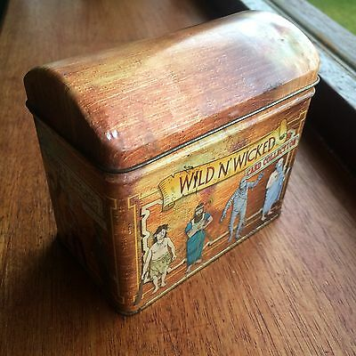 Horrible Histories - Wild 'n' Wicked Card Collectors Tin And Cards Collection