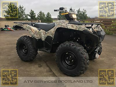 New Yamaha Grizzly 700 ATV in Camouflage
