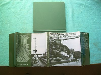 Great Western Steam Around Bristol Bradford Barton Railway Book (Reprint)