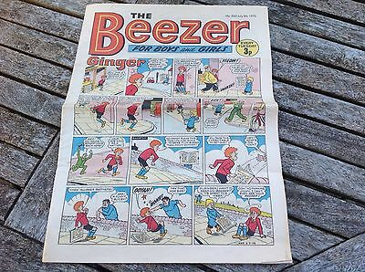 VINTAGE BEEZER COMIC 8th July 1972 Issue no 860