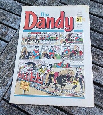 VINTAGE THE DANDY COMIC 31st July 1971 Issue no. 1549