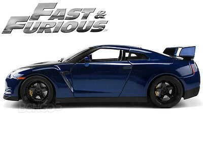 """""""Fast and Furious"""" Brian's Nissan Skyline GT-R (R35) 1:18 Scale Diecast Model"""
