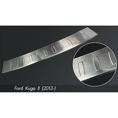 DCP Stainless steel rear bumper protector for Ford Kuga II 2013