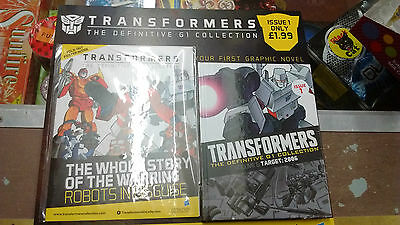 Transformers The Definitive G1 Collection  Graphic Novel Issue 1 NEW