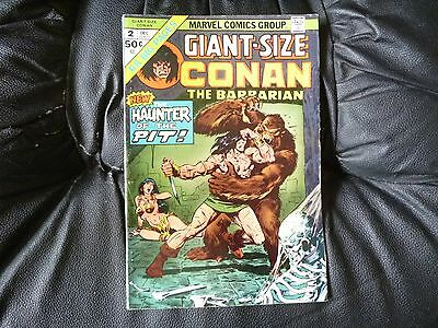 Conan the Barbarian giant size # 2 new story by Gil Kane nice condition
