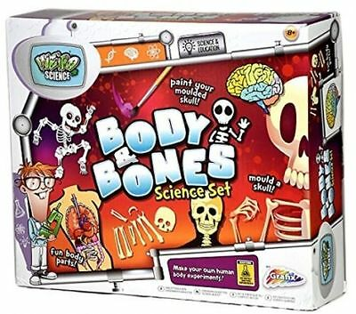 Childrens Learn About Body & Bones Biology Science Educational Toy Set R09 0010