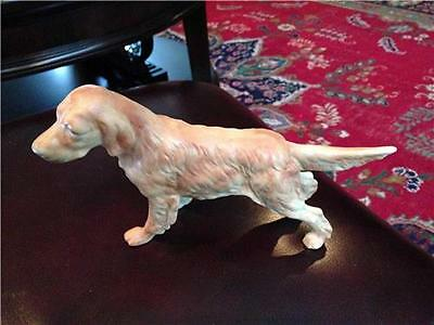 Pointer Porcelain Figurine Pre-Owned Unknown Maker Light Brown
