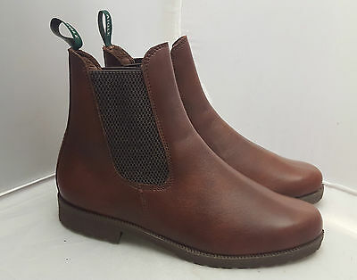 Aigle Bedale Brown Pull on Leather Boots 4/6/7