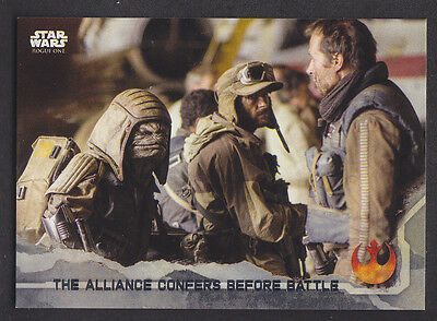 Topps Star Wars - Rogue One Series 1 - # 87 Gray Squad Parallel 60/100