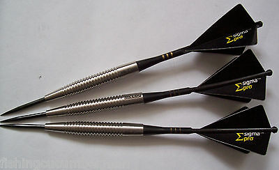 McCOY STEALTH 22g 90% TUNGSTEN DARTS SET UNICORN SLIKSTIKS  SIGMA PRO FLIGHTS