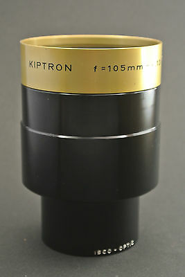 105mm, F2 ! Projection lens ISCO-OPTIC KIPTRON MC 105mm