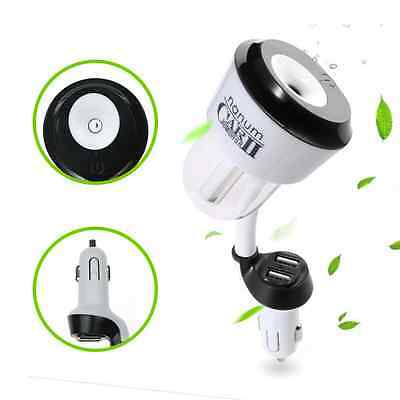 3 in1 Car Charger Humidifier, Topoint Car Charger Air Humidifier Auto Car Aromat