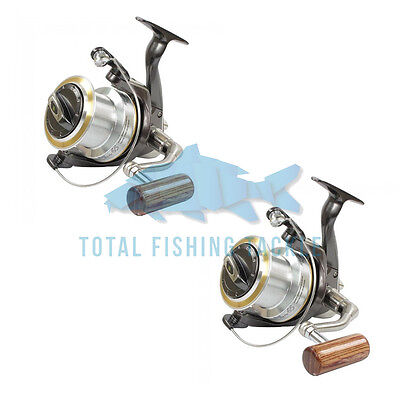 Wychwood NEW Big Pit Riot 65 Fishing Reel x2 + Spare Spools - C0042