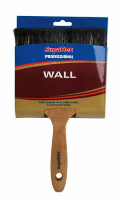 """SupaDec Professional Wall Brush High Quality Available In 4"""", 5"""" & 6"""""""
