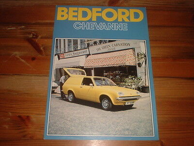 Bedford Chevanne Sales Brochure,1976