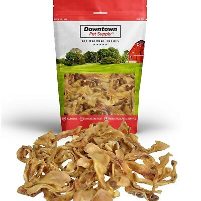 Pig Ear Strips, 100% Healthy All Natural Pigs Ears Treats for Dogs Treat Chews