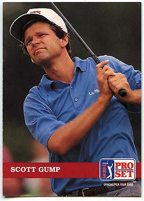 Scott Gump #26 PGA Tour Golf 1992 Pro Set Trade Card (C322)