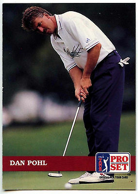 Dan Prohl #2 PGA Tour Golf 1992 Pro Set Trade Card (C322)