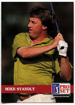 Mike Standly #137 PGA Tour Golf 1992 Pro Set Trade Card (C322)