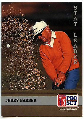 Jerry Barber #273 PGA Tour Golf 1992 Pro Set Trade Card (C322)