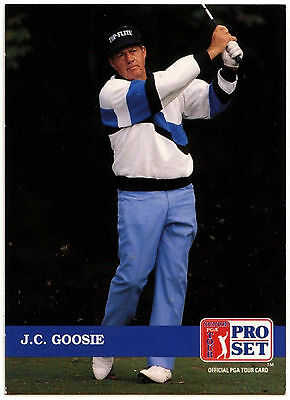 J.C. Goosie #269 PGA Tour Golf 1992 Pro Set Trade Card (C322)