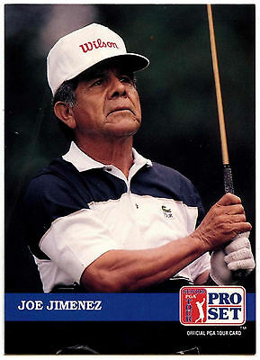 Joe Jimenez #242 PGA Tour Golf 1992 Pro Set Trade Card (C322)
