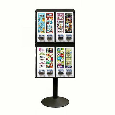 8 Colume Sticker and Tattoo Vending Machine