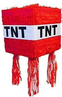 TNT Pinata for Minecraft Party