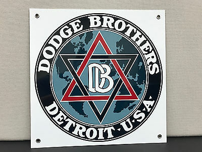 DODGE BROTHERS vintage sign  metal garage man cave gm