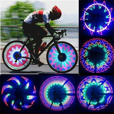 Bicycle Bike Wheel Spoke Light 32 LED Colourful Rainbow Side Tire Valve Lamp