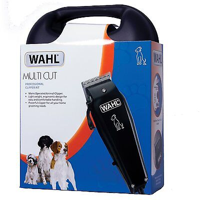 Brand New Wahl Multi Cut Mains Dog Clipper Set & Instructional Dvd