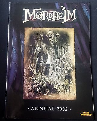 Mordheim Annual 2002 Rare Book Games Workshop Warhammer Fantasy Rules Warbands