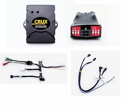 Crux SWRTY-61J Stereo Install Interface w/SWC/JBL Amp Retention for 03-11 Toyota