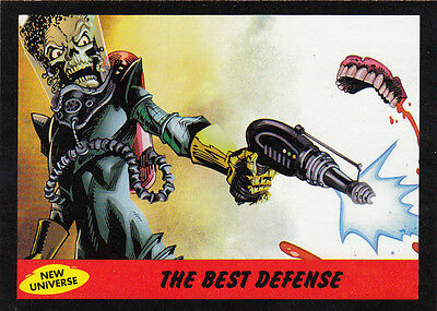 2012 Topps Mars Attacks Heritage New Universe Card #8 The Best Defense